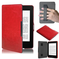 Tablet Covers Cases For Amazon Kindle Paperwhite Case Handheld Tray E-book Leather Cover For Kindle Paperwhite