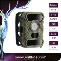 Hot new product 2015 1080p HD 12Mega pixel hidden wireless video night vision hunting camera
