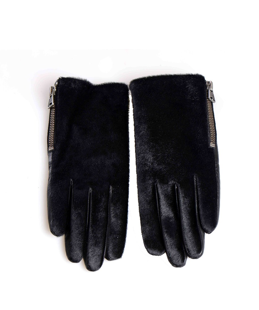 Nice custom magic microfiber cleaning gloves with fur