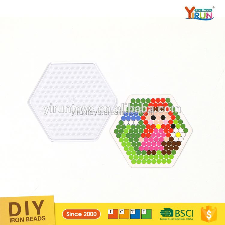 best selling product children educational toys Blister Pack colorful hama beads hama perler beads