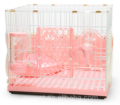 Rabbit Cage with Rabbit-Style Fences