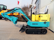 XINIU mini excavator XN08, small farm tractor, 0.8t mini excavator for garden