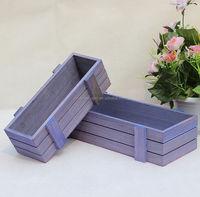 Shabby Simple Chic Garden Flower Wood Planter Box
