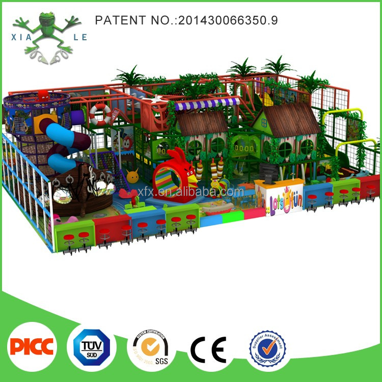 china funny kids game indoor adventure playground for adults