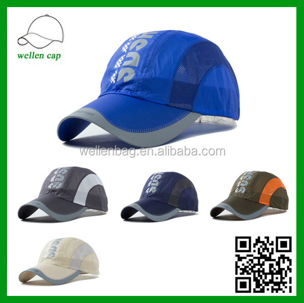 Outdoor summer spell color visor hat, sunscreen baseball cap, quick-drying breathable sports cap