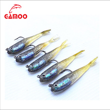 Promotion 7.5cm 6.5g Pack Of Lead Fish Japanese Soft Plastic Fishing Lures