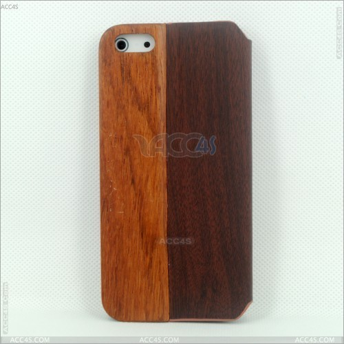fashion design wood grain PC hard case for iphone 5 /5s