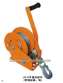 CE Proved JC-C industrial hand winch small with cable wire and hook