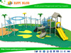 CE GS SASO Certifided Food Grade Plastic Outdoor Playground Best Selling Outdoor Children Combined Slide