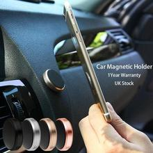Popular selling Mobile Phone Car Dashboard 3M stick Mount Holder Strong Magnetic 360 Rotation Cell phone Car Metal Holder
