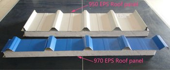 color EPS Sandwich panels