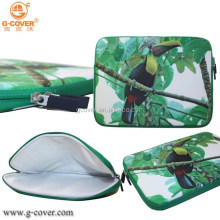 Green cute animal Neorpene tablet sleeve carrying sleeve case bag 10.1