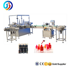 shanghai supplier customized JB-YX4 automatic nail polish gorilla e cigarette vials 4 heads filling machine