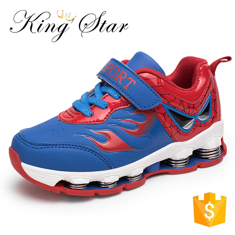 China Kids Sport Shoes New Style Rock Spring Jumping Shoes School Sport Boys Shoes Kids Breathable Running Sneakers For Sale