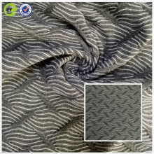 China manufacturer traditional TR jacquard knitted fabric for Coats