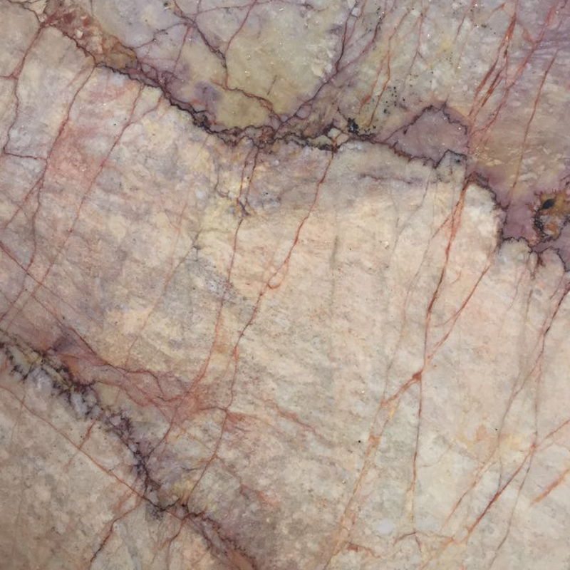 Moonlight spider beige marble slab for home decoration