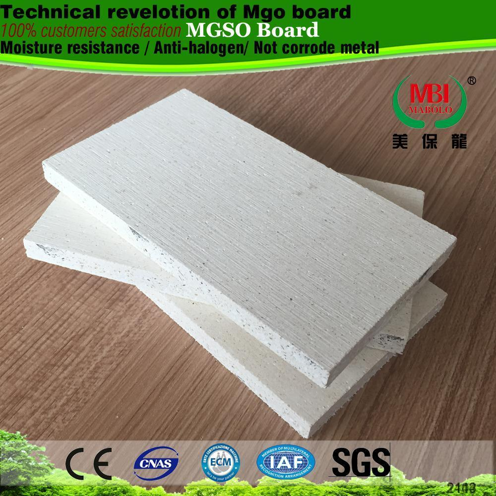 replace elephant gypsum board no chloride ion no sweat mgo sulphate board mgso4 board