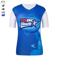 Custom all over sublimation printing t-shirt for sublimation