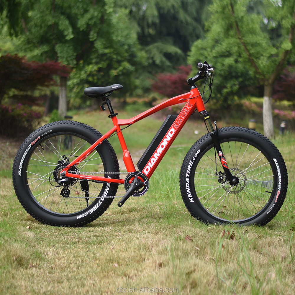 Diamondback hidden battery electric fat tire bikes