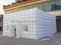Cube inflatable advertising tent/exhibition stand