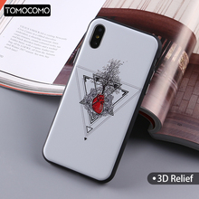 TOMOCOMO Sexy Hot Heart Rock Girl Summer On Soft Phone Case Coque Fundas For iPhone 7 7Plus 6 6S 6Plus 5 5S 8 8Plus X