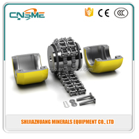 Chain coupling is composed of a duples roller chain and two sprockets