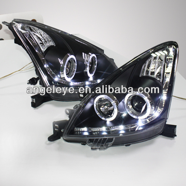 for Nissan Livina Angel Eyes LED head lamp 2009-2013year
