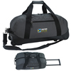 Promotional Deluxe Polyester Duffel Bag with Wheels
