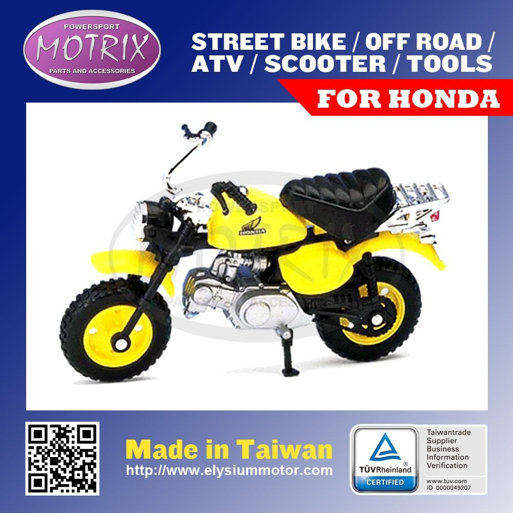 CHINA SUPPLIER MOTORCYCLE DECORATION MODEL TOY FOR HONDA MONKEY 1:18