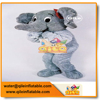 China commercial elephant mascot animal costume cartoon clothes for wholesale