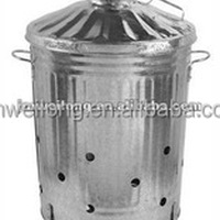 Galvanized Household Waste Incinerator