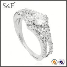 HOT SELLING!!! Newest Style Crystal pakistani wedding rings