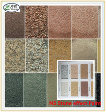 High Quality Stone Effect Paint Natural Colour Sand for exterior wall real stone paint