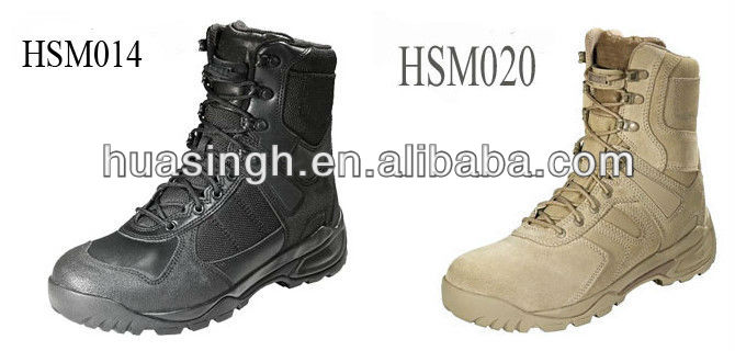 Russia government approved fashion nubuck leather army military boots high quality
