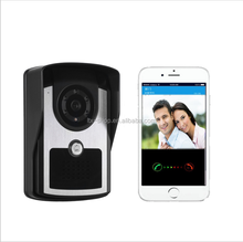 Intelligent Wireless HD Megapixel p2p WiFi Camera Doorbell, WiFi Doorbell with Mobile App to Control