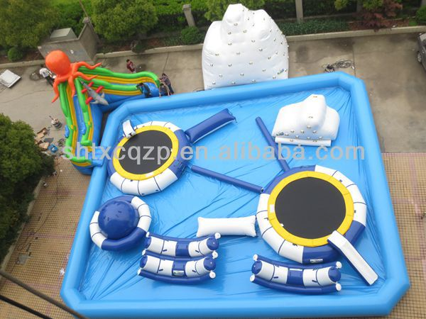 inflatable water park aqua park for lake /sea /swimming pool/resort