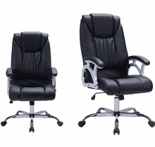 High Back Executive Office Chair Task Ergonomic Chair Swivel Manager Chair Thick Padded Contour Seat and Headrest
