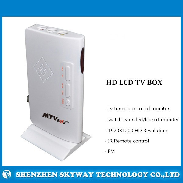 Practical,AV to VGA LCD TV tuner Box