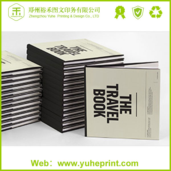 China custom CMYK art paper print cheap sewn bound hardcover book printing with matt film lamination