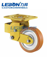 Heavy Duty shock absorber caster wheel