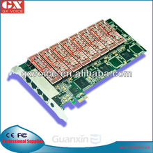 16 Channel PCI Express Telephone Recording Card