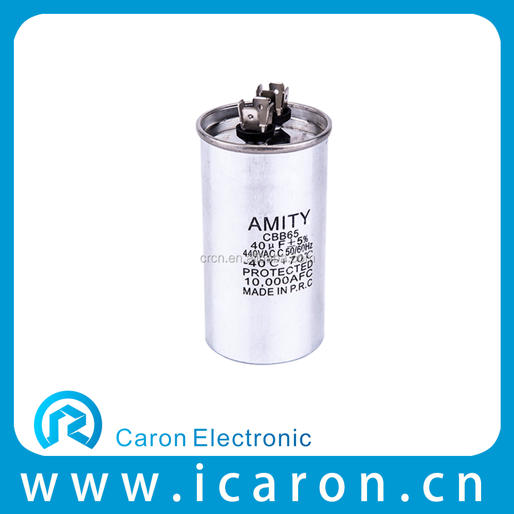 long life Air Conditoner Capacitor CBB65 (oil) wtih UL.VDE