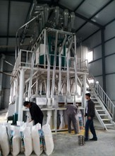 30 ton per day fufu ugali making machine with vitamins and minerals