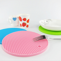 Hot Sale Novelty Colorful silicone placemat,rubber silicone mat,Tea Drink rubber placemat