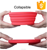 Wholesale cheap silicone rubber collapsing bowl