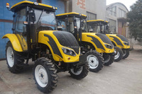 New style medium tractor QLN554 55 CV farm tractor 4x4 with low price