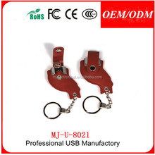 2015 new shape chicken leg usb flash drive , Free sample