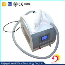 infrared ray indication light 1064nm/532nm/1320nm Q Switch Nd YAG Laser tattoo removal 5.7 inches key press screen