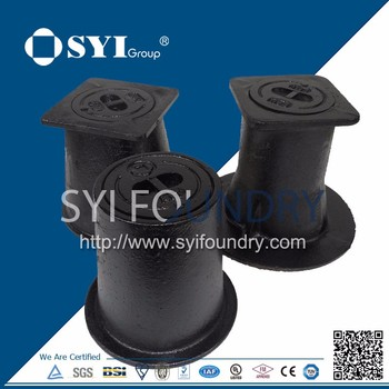 Ductile Iron surface Box for meter