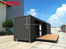 40ft Foldable Prefab Shipping Container European Style Mobile Cafe